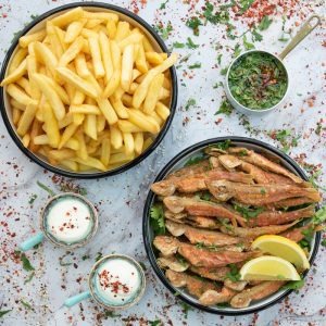 Red-Mullet-French-Fries
